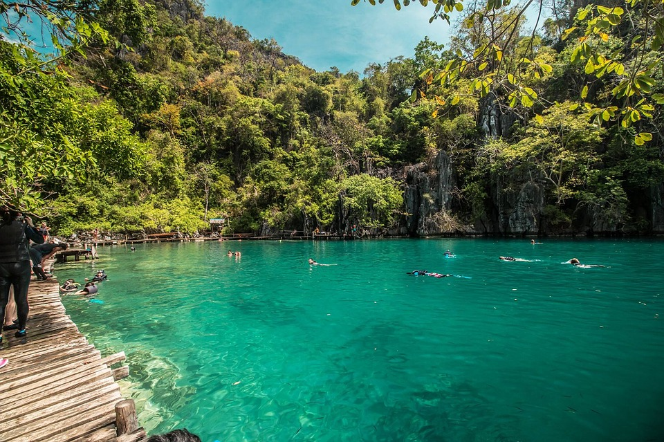 Palawan Lagoon Water Tropical Island Travel Coron